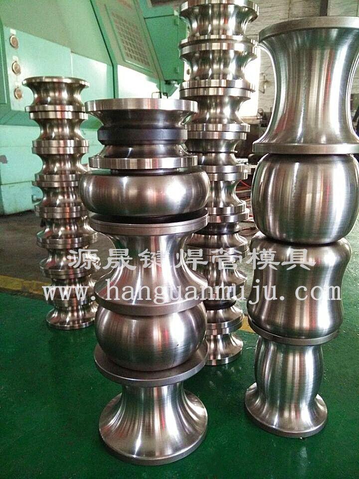 不锈钢工业管焊管模具图片