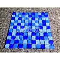 游泳池水晶玻璃马赛克三色蓝