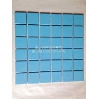浅蓝色游泳池陶瓷马赛克