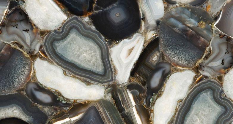 以色列恺萨金色-半宝石系列 8311 G A 灰玛瑙