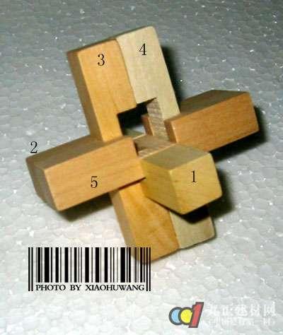 孔明锁组成结构 孔明锁6根解法 - 行业资讯 - 九正