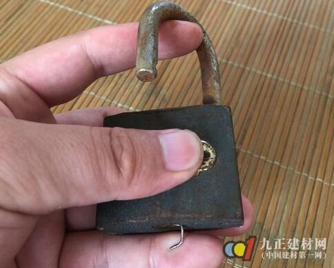 挂锁开锁原理图解5