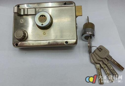 防盗门锁图片