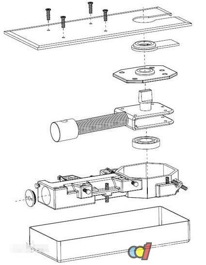 地弹簧组成结构图