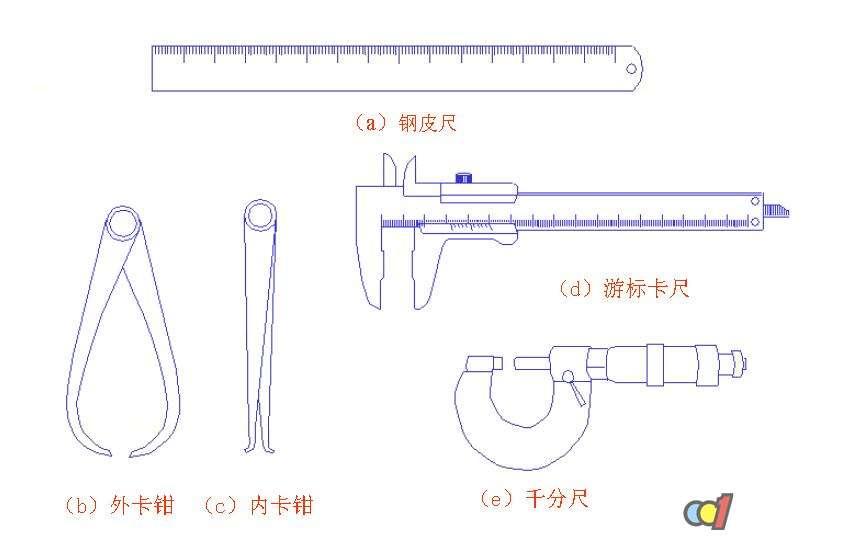 尺寸测量工具