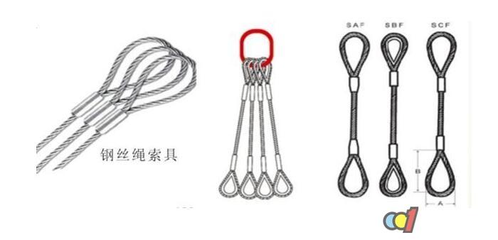 钢丝绳索具