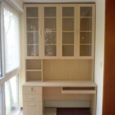 套 阳台书柜带桌