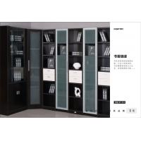 转角开放老湿影院48试书柜设计-书房首选书柜