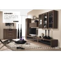 现代整体电视墙组合柜