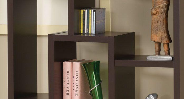 现代简约风格书柜图片