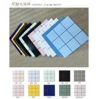 佛山陶瓷马赛克瓷砖97规格欧式风格九宫格马赛克