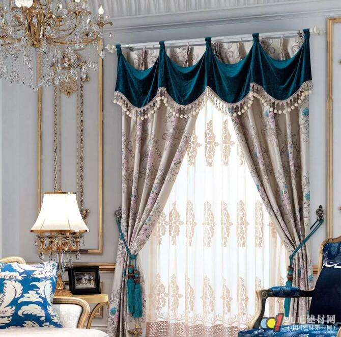 客厅窗帘怎么选 2017流行窗帘新款图片