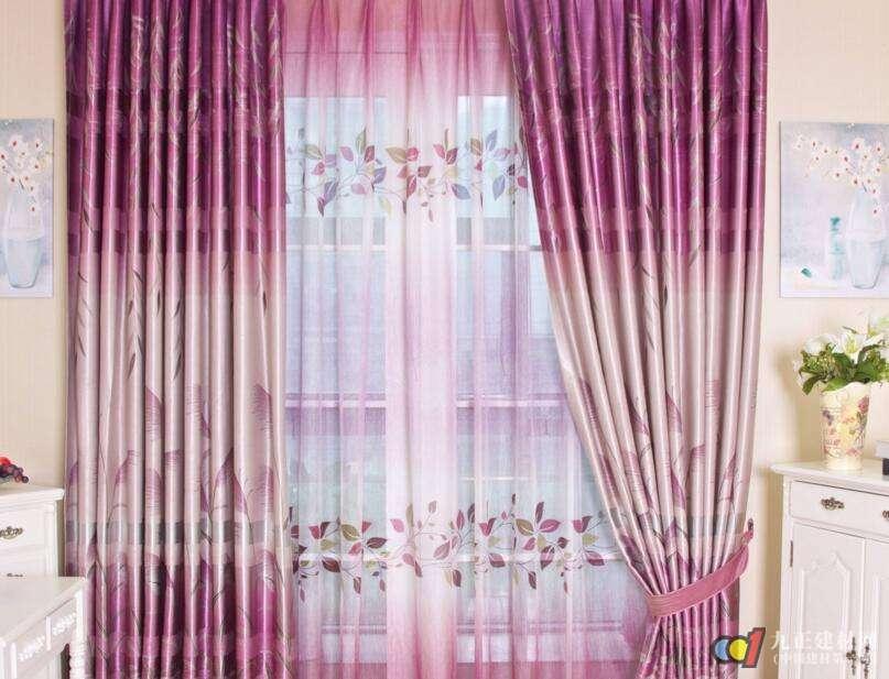 布艺窗帘图片