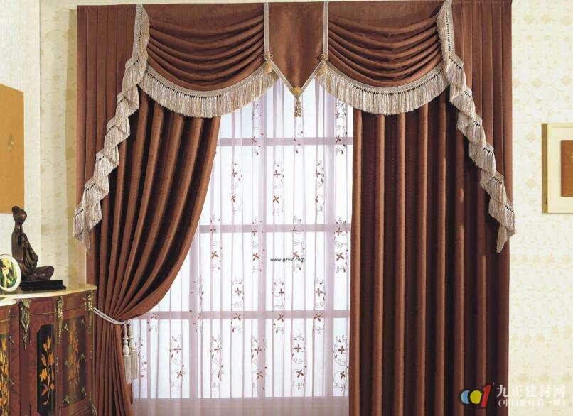 布艺窗帘效果图