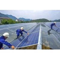 安装光伏电站太阳能光伏发电