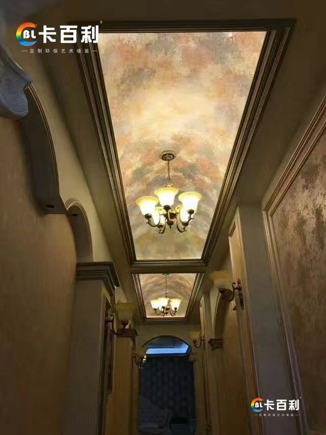卡百利艺术壁材  水性墙艺漆