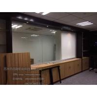 苏州百叶隔断 板材高隔间 单层玻璃隔断 圣浩隆铝业