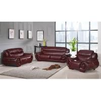 K01#中头层牛皮沙发客厅真皮沙发1+2+3沙发组合