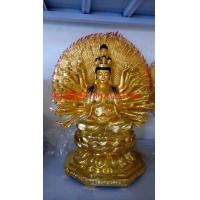 纯铜观音像观世音菩萨铜像居家寺庙供奉摆件