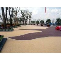 西安透水地坪,西安压膜压花地坪,混凝土固化剂地坪