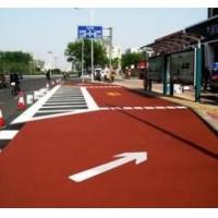 西安汉中渭南,陶瓷颗粒彩色路面地坪