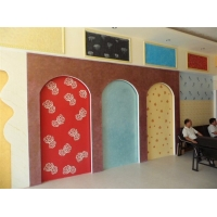 环保建材液体壁纸0加盟中鼎涂料