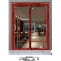 厨房推拉门阳台门卧室推拉门双层玻璃钛镁铝合金门恒升门窗