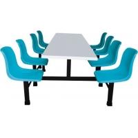 玻璃钢快餐桌/食堂餐椅/饭堂餐椅