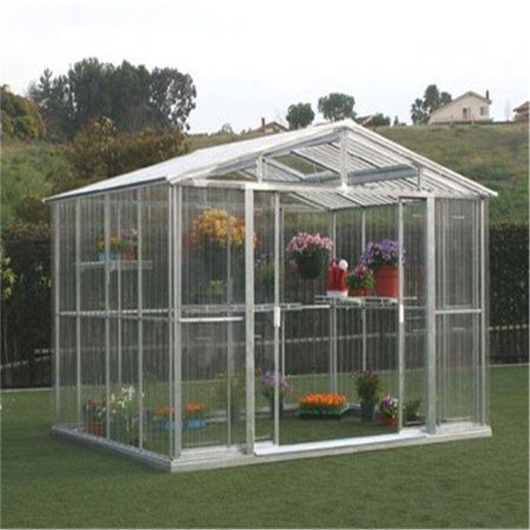 温室花房样版、透明阳光板制作、保温隔热防结雾