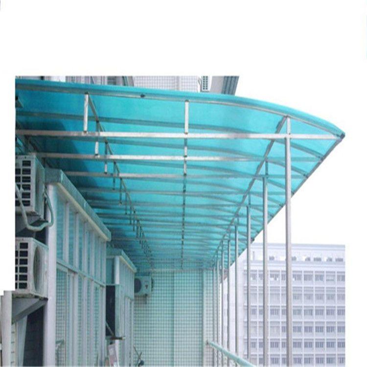 窗台避雨棚、阳光板雨搭、全新料PC板材制作