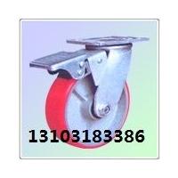 大型脚轮、万向脚轮、铁芯胶轮(图)