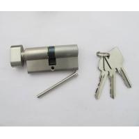 欧标铜锁芯70+钮 55门厚锁芯 外贸出口锁芯 定做二级三级