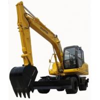 济南恒特轮式150-9挖掘机 恒特挖掘机配件 15吨轮挖价格
