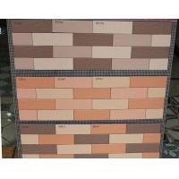 三色瓷砖高档外墙砖45*145混色拼贴