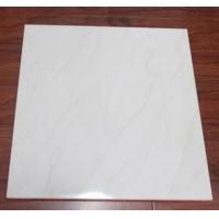 卧室办公室白色波浪纹全抛釉瓷砖600*600 佛山地面砖