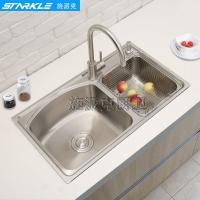 施派克304不锈钢水槽厨房水槽套餐SK7643