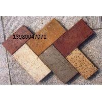 河南开封最优质烧结砖红色外墙劈开砖批发仿古砖价格