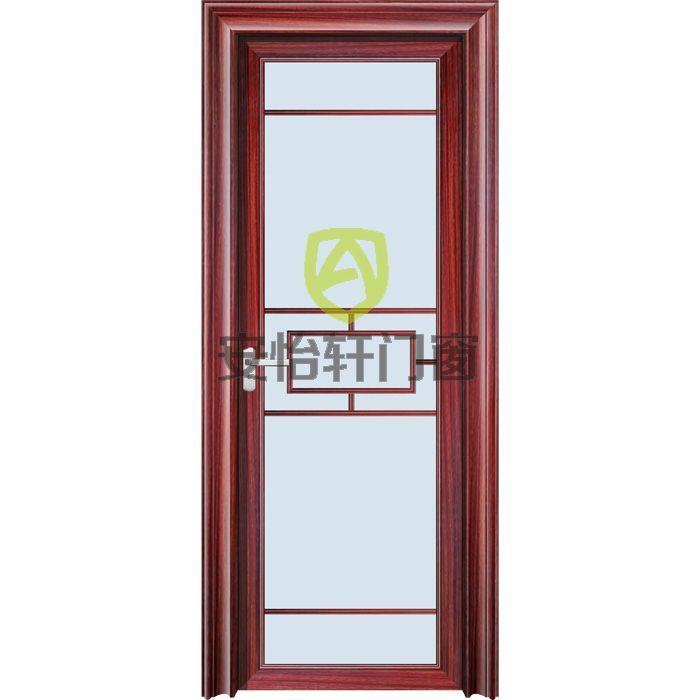 广东佛山平开门-安怡轩门窗-尊贵重型平开门系列PU红花梨