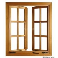高档铝木复合门窗 — 天津铝木门窗专业生产