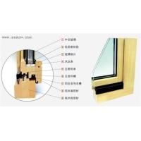 热门的德奥斯86系列铝包木门窗 天津铝木门窗