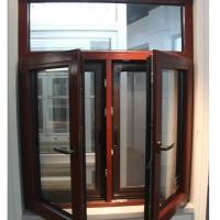 铝木防盗金刚网一体窗 铝金刚防盗网一体窗