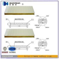 岩棉净化板|山东岩棉净化板隔断|宏鑫源净化板隔断