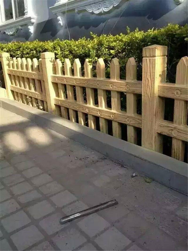 仿木头栅栏 仿木树桩 艺术感超强 代替木头产品。