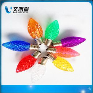 LED圣诞灯,C7草莓灯,LED彩灯,LED灯