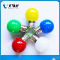 LED圣诞灯,G45球泡灯,彩灯,装饰灯