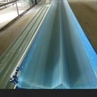 暗扣820钢结构采光板、FRP采光板采光瓦透明瓦