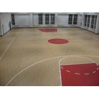 室内篮球场装修选什么地板