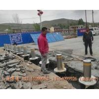 工業園區防闖升降路樁,道路擋車升降路樁