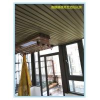 洛陽別墅一樓下沉式玻璃陽光房頂,安全遮陽隔熱保溫圖