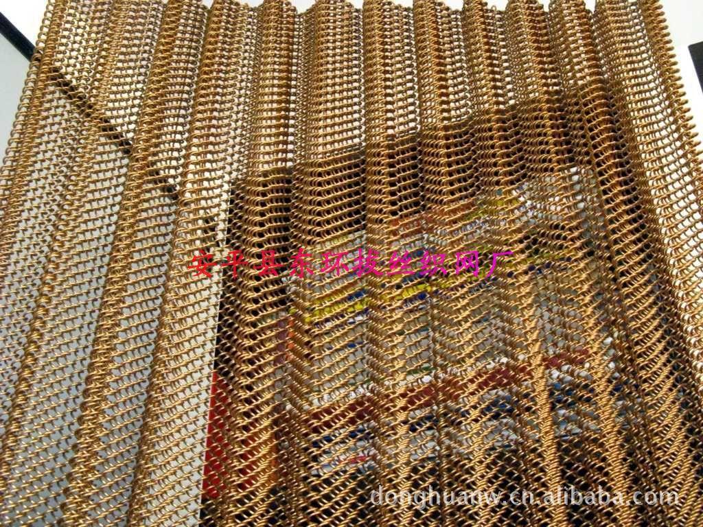 各种颜色金属装饰网帘,金属窗帘